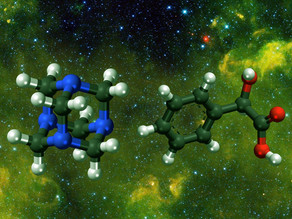 אבן יסוד של מולקולה אורגנית נמצאה במטאוריט