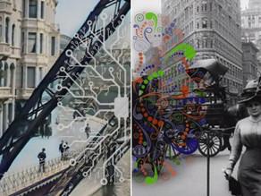 הצצה לוופרטל, ניו-יורק ופריז של לפני יותר מ-100 שנה בעזרת בינה מלאכותית