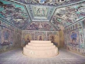 """""""טעות"""" היסטורית מוזרה נחשפה במקדש מערה בודהיסטי"""