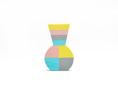 Vase Goshiki Pot   <Yellow>