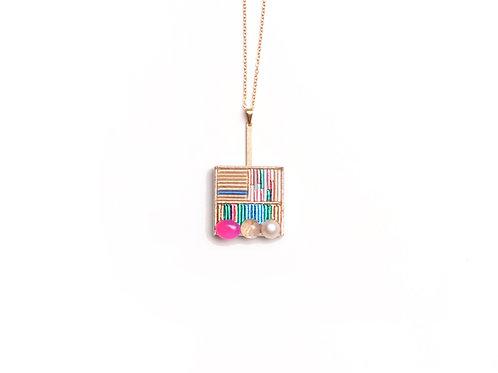 Wood necklace (malti)