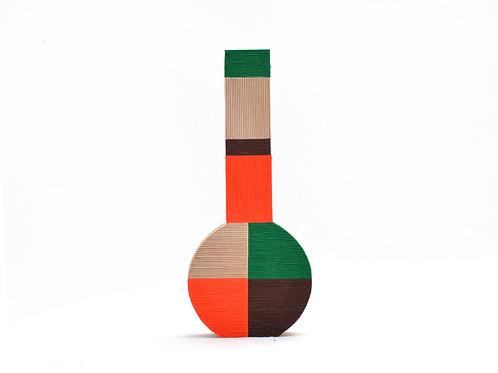 Vase Goshiki Frasco   <Orange>