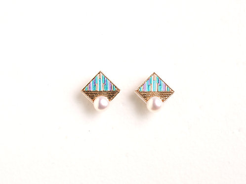 Square pearl 〈Mint〉