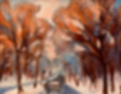 Early Frost, Patricia Corbett, Oil, 8x10