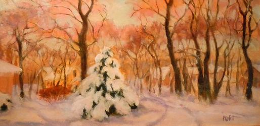 Snow Bright Delight, Patricia Corbett, O
