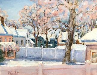 Backyard Bliss, Patricia Corbett, Oil, 8