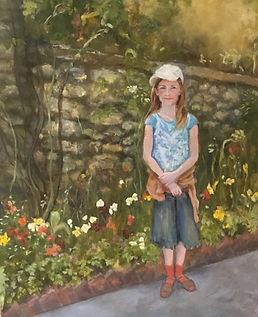 Charloitte At Monet's Garden, Patricia C