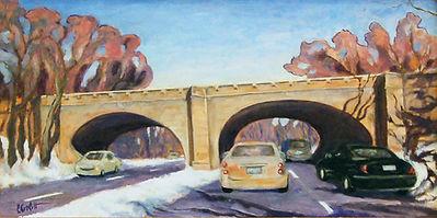 Derby Avenue Bridge, Patricia Corbett, O