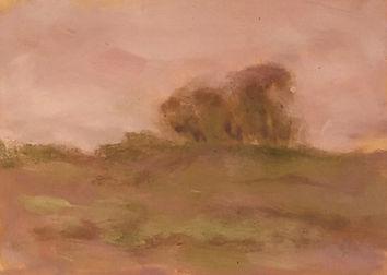 A Rainy Day, Patricia Corbett, Oil, 5x7,