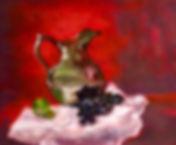 Red Velvet, Patricia Corbett, Oil, 11x14