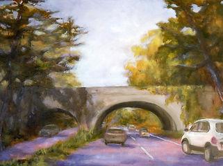 Newtown_Bridge,_Patricia_Corbett,_Oil_Gy