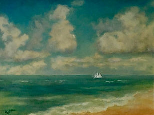 Bon Voyage, Patricia Corbett, Oil, 24x30