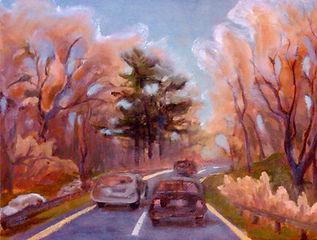 Autumn Frost, Patricia Corbett, Oil, 8x1