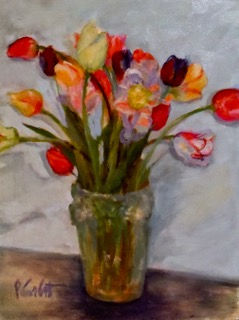 Tiptoing through the Tulips, Patricia Co