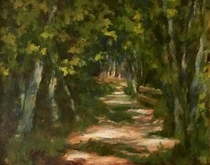 Hidden Pathway, Patricia Corbett, Oil, 8