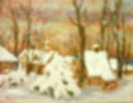 The Yew Tree, Patricia Corbett, Oil, 9x1