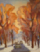 October Fest!, Patricia Corbett, Oil, 20