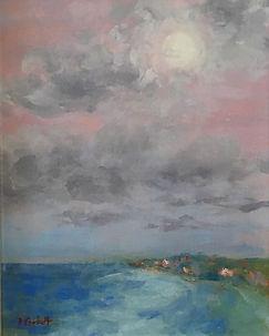 Moonglow, Patricia Corbett, Oil, 10x8, $
