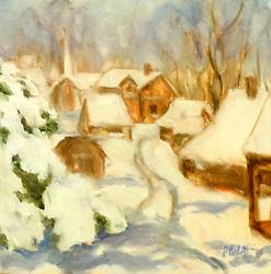 A Beautiful Site, Patricia Corbett, Oil,