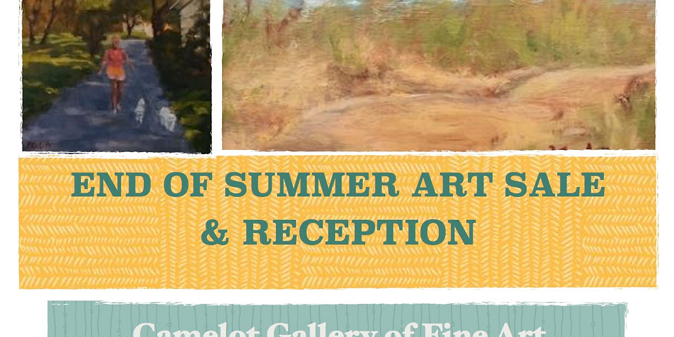 Camelot Gallery Art Sale & Reception