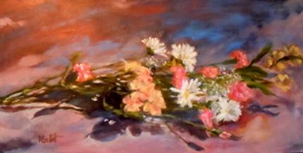 Floral Fantasia, Patricia Corbett, Oil,