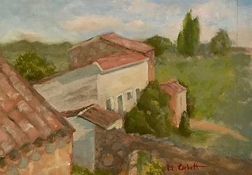 The Milk Barn, Patricia Corbett, Oil, 12