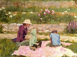 Art In The Park, Patricia Corbett, Oil,