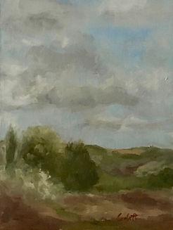 Green Pastures, Patricia Corbett, oil, 8
