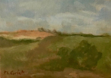 Pastorale, Patricia Corbett, Oil, 5x7, $