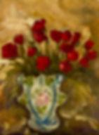 Roses Are Red, Patricia Corbett, Oil, 12