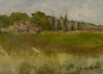 Ischia De Castro, Patricia Corbett, Oil,