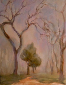 Mists Of Avalon, Patricia Corbett, Oil,