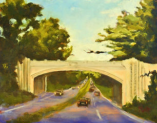 White Oak Shade Bridge, Patricia Corbett