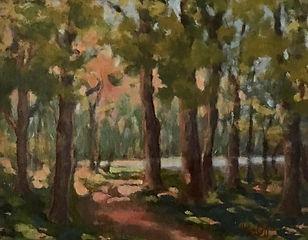 The Gloamin', Patricia Corbett, Oil, 11x