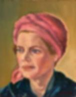 Carolyn, Patricia Corbett, Oil, 12x9, NF