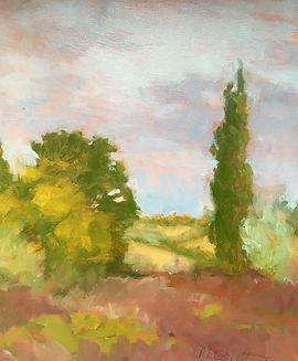 Allegretto, Patricia Corbett, Oil, 10x8,