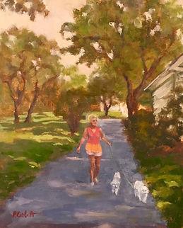 A Necessary Stroll, Patricia Corbett, Oi