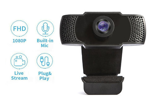 Webcam 1080P with Microphone TSWC007 (10pcs)