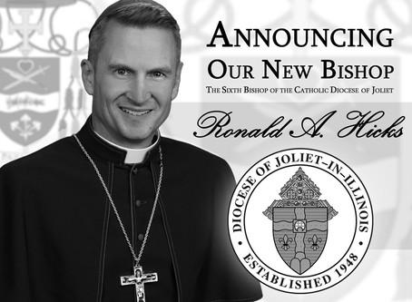Diocese of Joliet Announces New Bishop