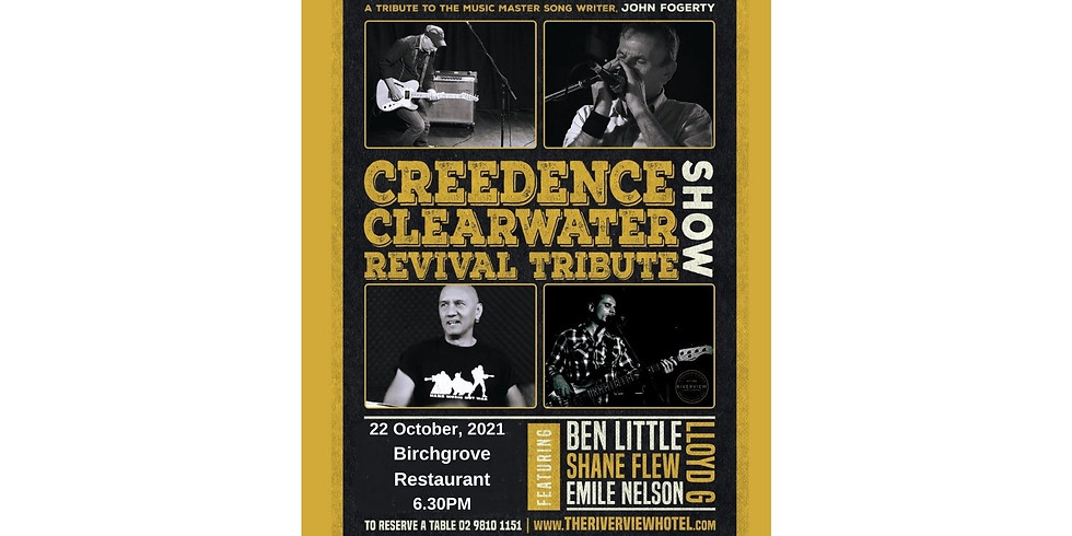Creedence Clear Water Revival Dinner and Show