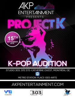 AKP Entertainment K-Pop Audtition