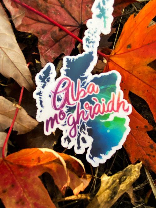 """""""Alba mo ghràidh"""" Die-Cut Sticker"""