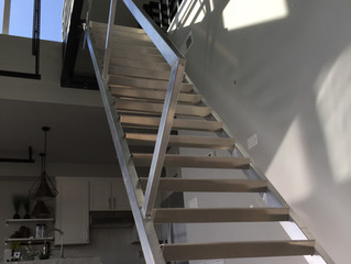 Custom Metal Staircase Spokane