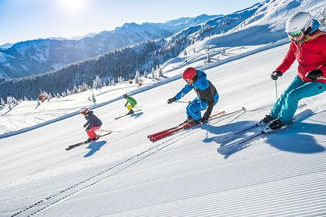 Skifahren in Flachau in Ski amadè