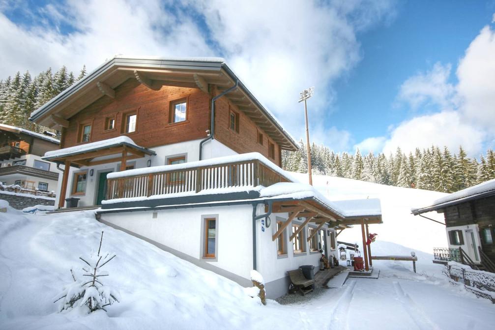 Das Kohlerhaus im Winter