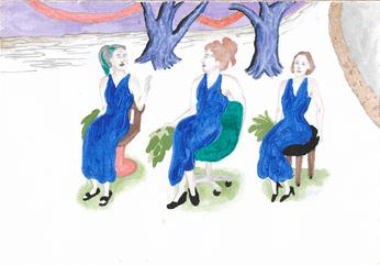 East Point Three Ladies