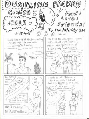 DUMPLING PACKER comics NO.2