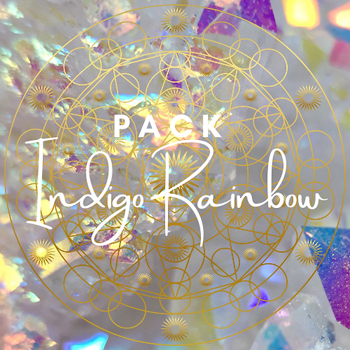 PACK INDIGO RAINBOW