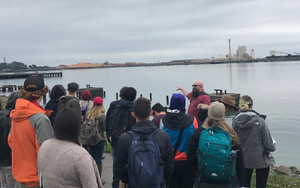 Fishing Community Field Trip for HSU Students
