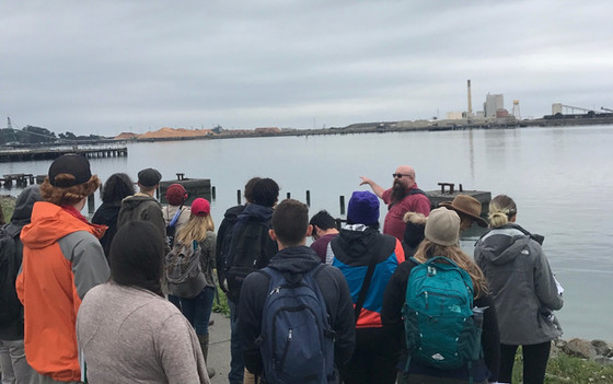 Fishing Community Field Trip for HSU Students